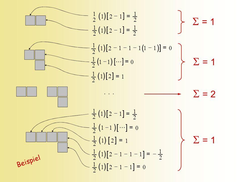  = 1  = 1  = 2  = 1 [ ] [ ] [ ] [ ] [ ] ( ) [ ] ( ) [ ] ( ) [ ( )